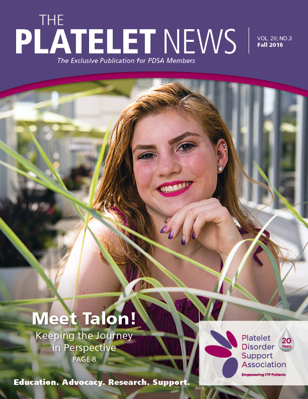 Cover of The Platelet News