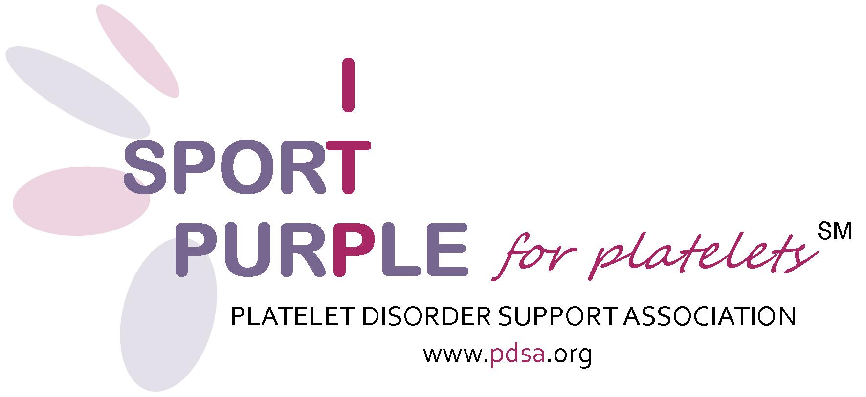 Sport Purple for Platelets logo