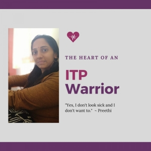 ITP Warrior - Preethi